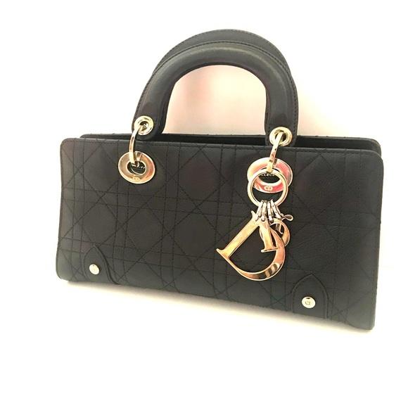bcb0c363e68 Dior Bags   Lady Christian Cannage Stitched West Handbag   Poshmark